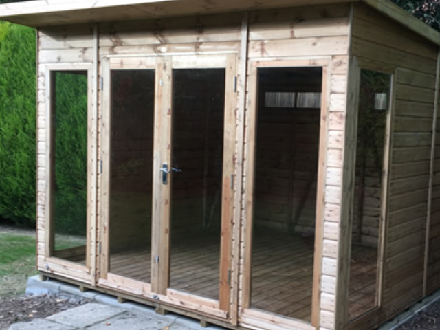 4 - Extra Glazed Timber Doors