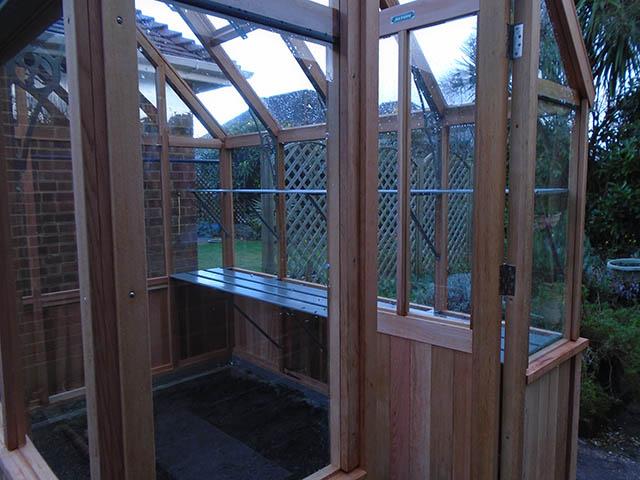 Alton Greenhouse Door - Mills