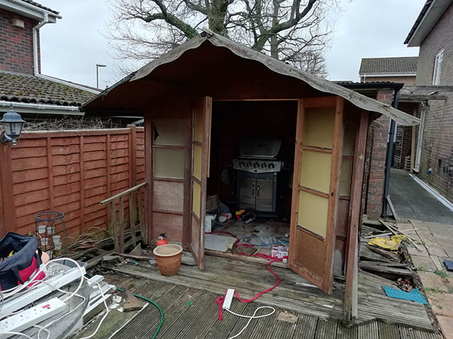 Childs Old Shed