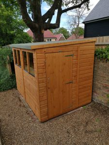 Finished Shed - Copley