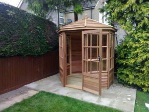 Alton Shipton Cedar 6x6 Summerhouse Installation - Dunks