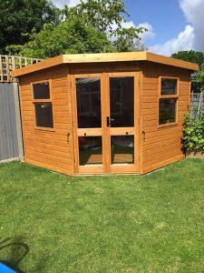 Malvern Arley Corner Summerhouse 9x9 - Buckland