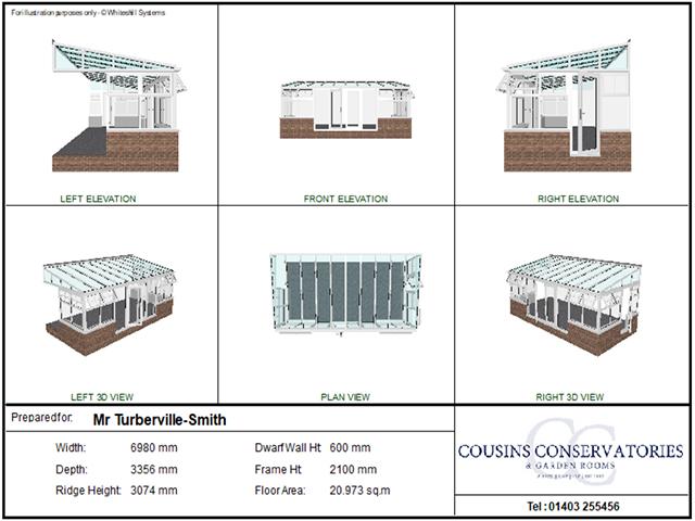 3D Building Plan - Turberville Smith