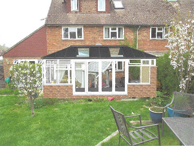 3D Solid Roof Conservatory Design Picture