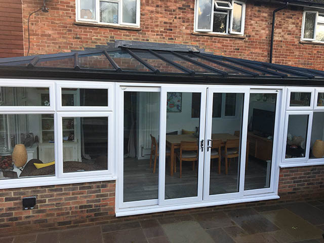 Bespoke Conservatory Showing Dining Table - Gabriel