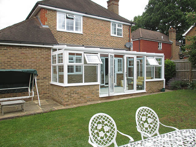 Glass Roof Conservatory - Turberville Smith