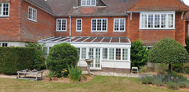 Glass Roof Replacement in Dorking - Edginton