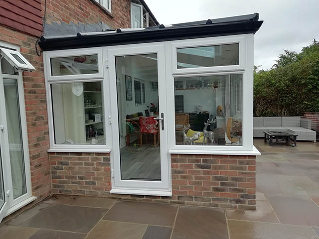 LivinRoof Conservatory with Extra Side Door