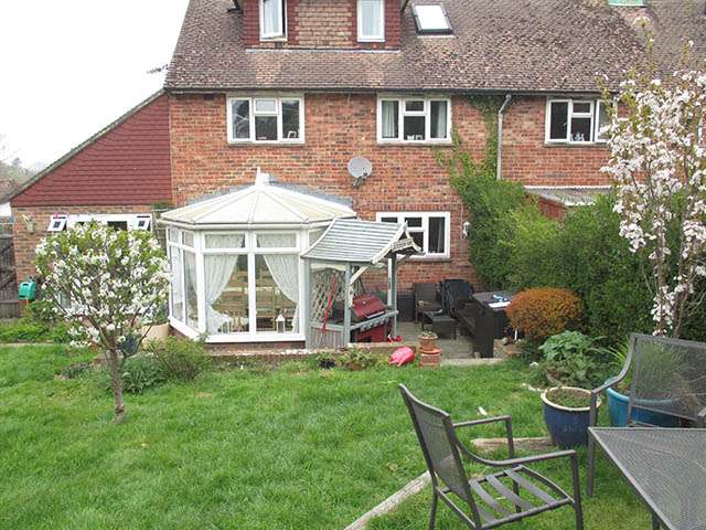 The old Conservatory that was Replaced - Gabriel