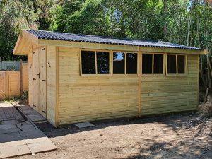 16x12 Garden Storage Shed - McLeod