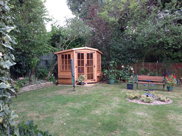 Albany Lincoln 7x7 Summerhouse - Kateley