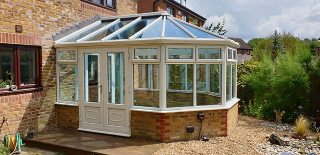 Completed Conservatory Glass Roof Replacement in Southwater - Chadwell