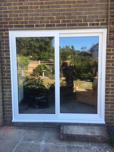 Replacement French Doors After - Power