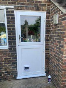 Replacement Stable Door in White UPVc - Little