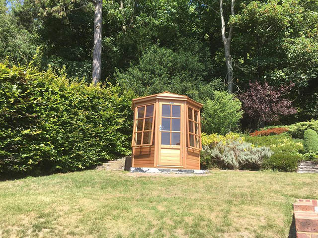 6x6 Summerhouse Installation in East Sussex - Williams