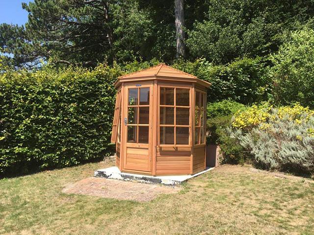 Alton Shipton Summerhouse Installation - Williams