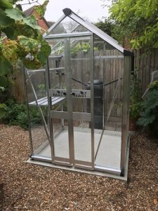 Eden Birdlip Greenhouse Installation - Farley
