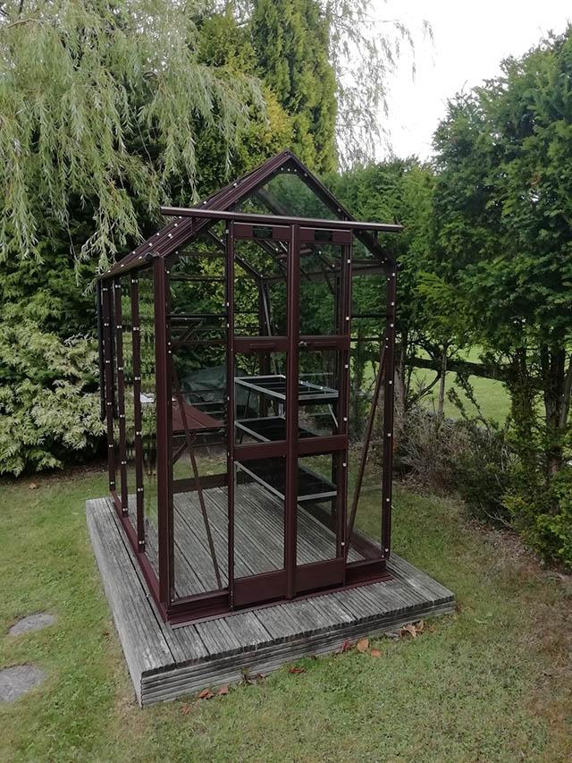 Elite Maxim Greenhouse Installation in Colgate - Rofe