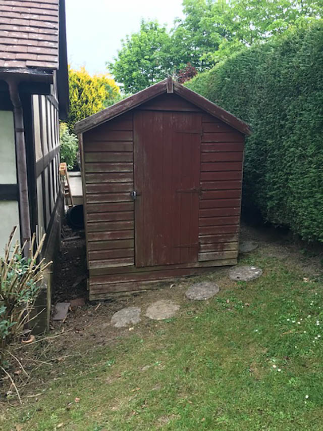Garden Building Survey Picture - Rofe