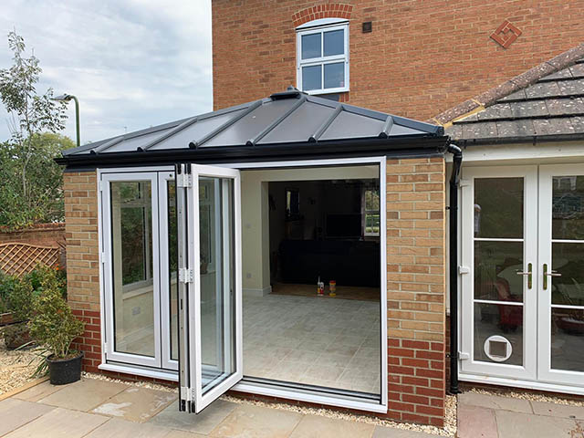 Living Roof Conservatory Style Extension in Southwater - West