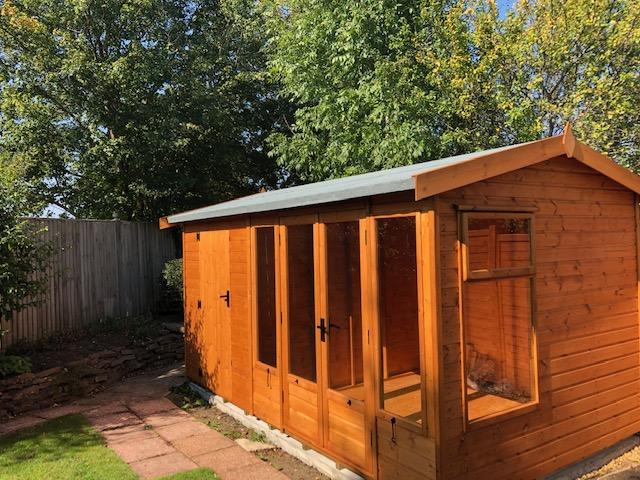Malvern Newland Pavilion Installation in Henfield - Richardson