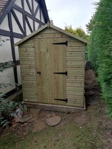 Pressure Treated Shed Installation in Colgate - Rofe