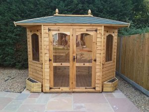 Regency Richmond Summerhouse Installed in Horsham - Childs