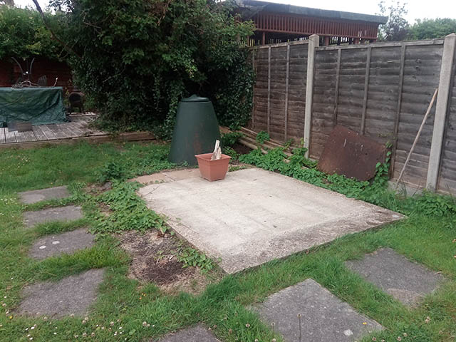 Shed Base Survey Picture - Dunn