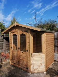 Regency Bowness Summerhouse Installation in Horsham - Beaken