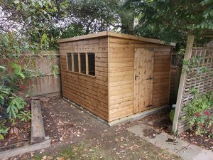 Regency Notton Shed in Softwood 10x8 - Jennings