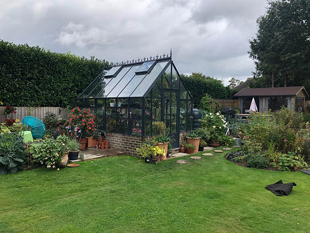 Robinsons Greenhouse Installation in West Sussex