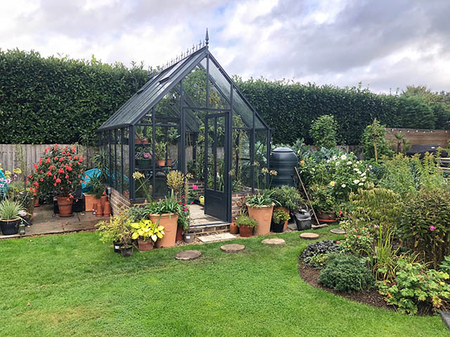 Robinsons Rushmore Greenhouse Installation in Horsham West Sussex