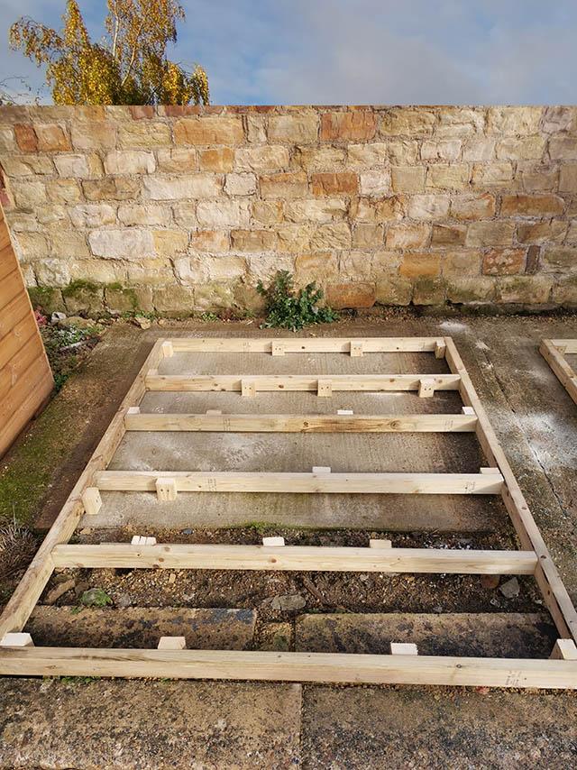 Guide Hall Timber Framed Base - Horsham Guides