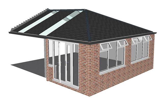 Jende final conservatory design