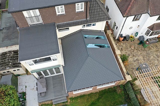 Large UltraTile380 Conservatory Style Extension in Horsham West Sussex 4