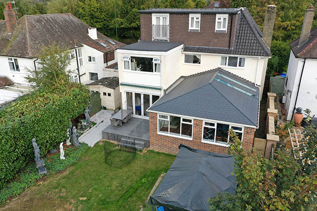 Large UltraTile380 Conservatory Style Extension in Horsham West Sussex 7