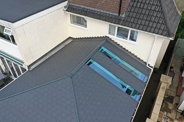 Large UltraTile380 Conservatory Style Extension in Horsham West Sussex 9