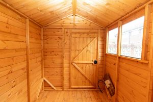 Powershed 8x6 Interior Installed in Horsham West Sussex - Wassell