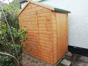 Powershed Apex 4x6 Shed Installation - Nisbet