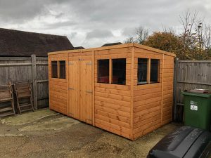 Powershed Pent Shed 12x6 - Wood