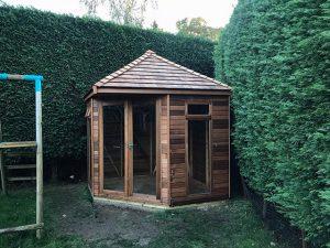 Regency Henley Cedar Summerhouse 8x8 - Beare