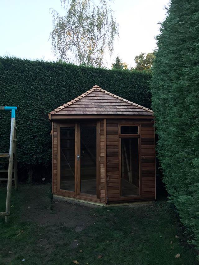 Regency Summerhouse 8x8 Installed in Broadbridge Heath West Sussex - Beare