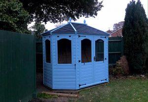Regency Wingrove 8 x 6 Summerhouse Including Installation - Green