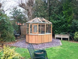 Alton Greenhouse Installation - Mumford