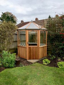 Alton Octagonal 6x6 Greenhouse Installation in Horsham - Norris