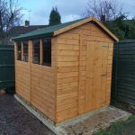 POWERSHED APEX 8x6 SHED IN STOCK TO COLLECT. LIMITED AMOUNT AVAILABLE