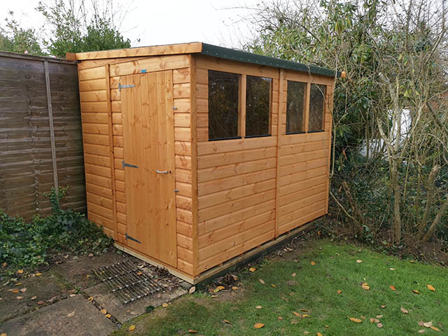 Powershed Pent 8x6 Shed Installation - Osgerby
