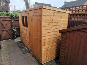 Custom Storage Powershed 10ft x 4ft - Templar