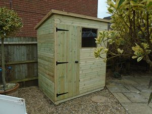 Malvern 6x4 ft Bewdley Pent - Medlock