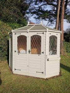 Regency Wingrove Summerhouse Re-Roof - Chalfont